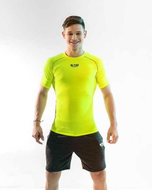 sueter compression AMARILLO NEON