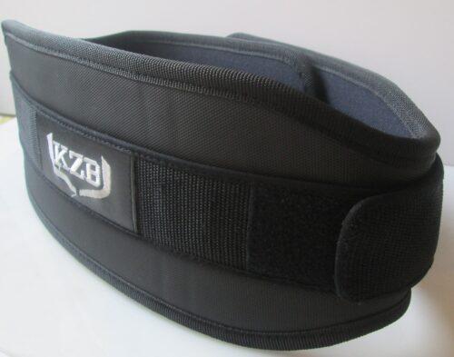 Cinturon velcro pesas negro-