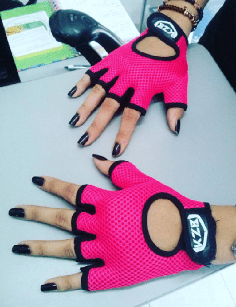 guantes sencillos