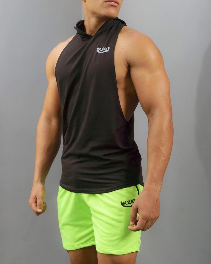 pantaloneta verde neon
